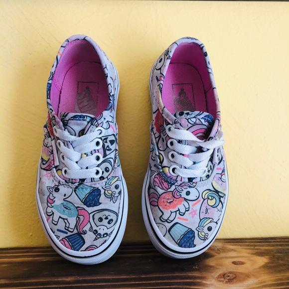 deca590858 VANS Unicorn Donut skate shoe sz  11 toddler. M 5bb7b14df63eea5931d68d58